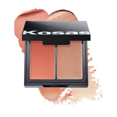 KOSAS   Color & Light Palette: Cream Blush And Highlighter