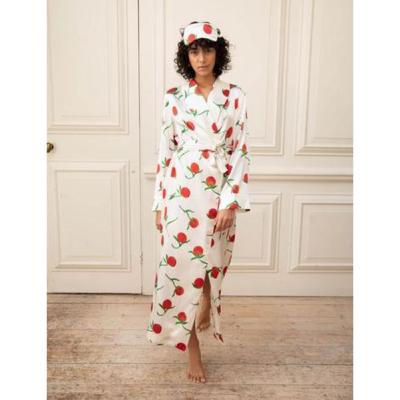 YOLKE | Silk Dressing Gown
