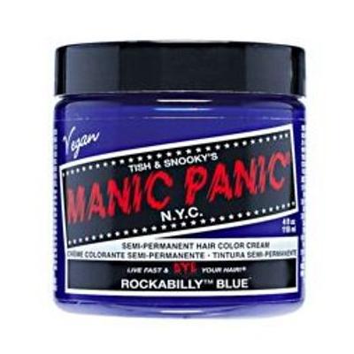 MANIC PANIC | Semi-Permanent Hair Color - Rockabilly Blue