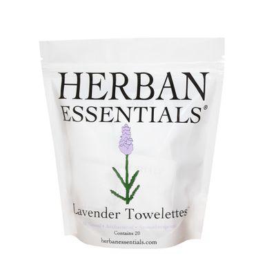 HERBAN ESSENTIALS | Lavender Towelettes