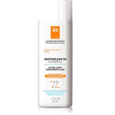 LA ROCHE-POSAY | Anthelios Ultra-Light Mineral Sunscreen SPF 50