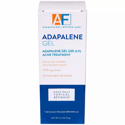 ACNEFREE   Adapalene Gel Once Daily Topical Retinoid Acne Treatment