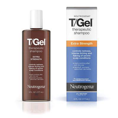 Neutrogena T/gel Extra Strength Therapeutic Shampoo With 1% Coal Tar