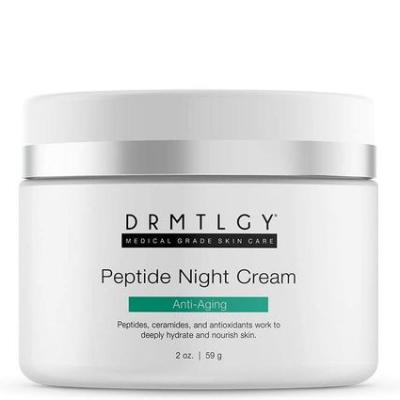 """DRMTLGY   Peptide Night Cream *USE CODE """"E826L"""" FOR DISCOUNT*"""