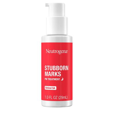 Neutrogena Stubborn Marks PM Treatment With Retinol SA, Face-Exfoliating Treatment To Help Reverse The Look Of Post-Acne Marks & Uneven Skin Tone