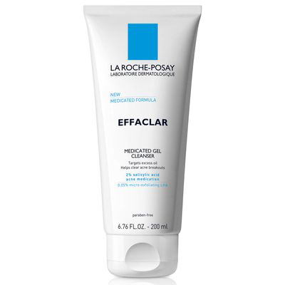 LA ROCHE-POSAY | Effaclar Medicated Gel Cleanser For Acne Prone/OILY Skin With Salicylic Acid - 25% off with code MAMINA