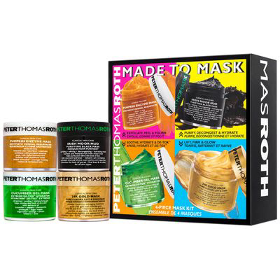 """PETER THOMAS ROTH   Made To Mask 4-Piece Mask Kit *Discount code """"ZION"""" for 25% OFF*"""