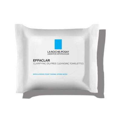 LA ROCHE-POSAY | Effaclar Facial Wipes For Oily Skin