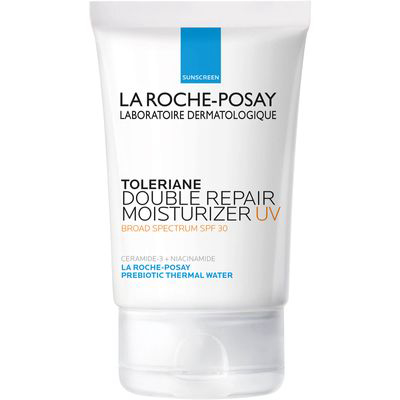 LA ROCHE-POSAY | Toleriane Double Repair UV Face Moisturizer With SPF 30 - Use code ANGELO for 25% off at SkinStore