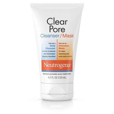 NEUTROGENA | Clear Pore Facial Cleanser/mask