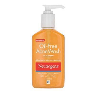 NEUTROGENA | Oil-Free Salicylic Acid Acne Fighting Face Wash