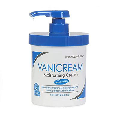 Vanicream Moisturizing Cream With Pump