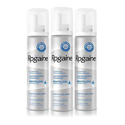 ROGAINE   Men's Rogaine 5% Minoxidil Foam For Hair Regrowth - 3-Month Supply