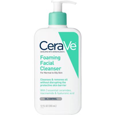 CERAVE | Foaming Facial Cleanser - 12.0 Oz