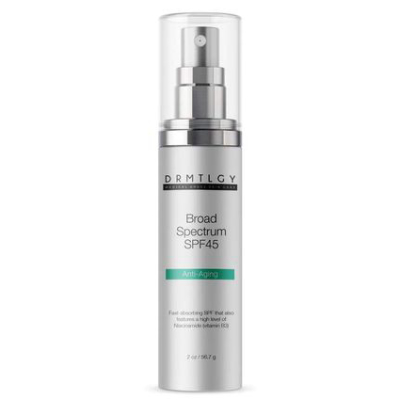 """DRMTLGY Broad Spectrum SPF 45 *USE CODE """"E826L""""  FOR DISCOUNT*"""