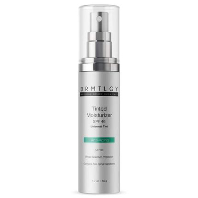 """DRMTLGY Universal Tinted Moisturizer SPF 46 *USE CODE """"E826L""""  FOR DISCOUNT*"""