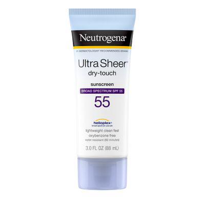 NEUTROGENA | Ultra Sheer Dry-Touch SPF 55 Sunscreen Lotion