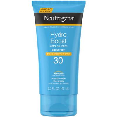 NEUTROGENA   Hydro Boost Water Gel Sunscreen Lotion SPF 30