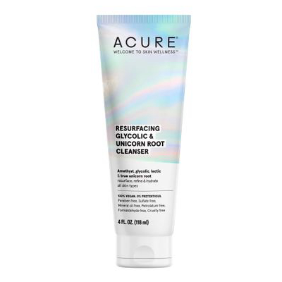 ACURE | Resurfacing Glycolic & Unicorn Root Cleanser