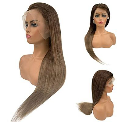 Ombre/Highlighted Human Hair Wig Lace Front