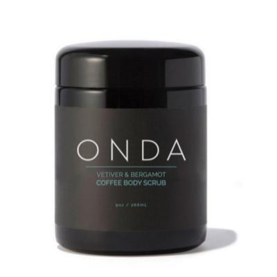 ONDA BEAUTY | Vetiver + Bergamot Coffee Body Scrub
