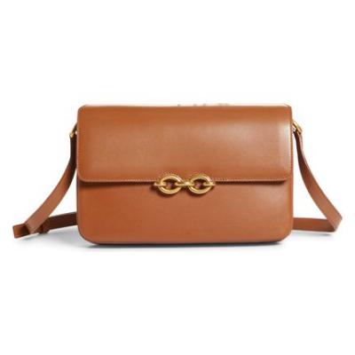 SAINT LAURENT | Maillon Leather Shoulder Bag
