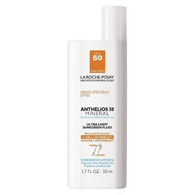 LA ROCHE-POSAY | Anthelios Ultra-Light Mineral Sunscreen SPF 50