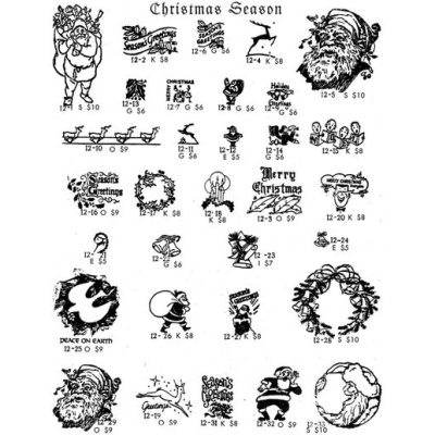 CASEY RUBBER STAMPS | Various