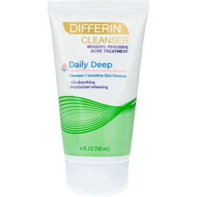DIFFERIN   Daily Deep Cleanser BPO 5%