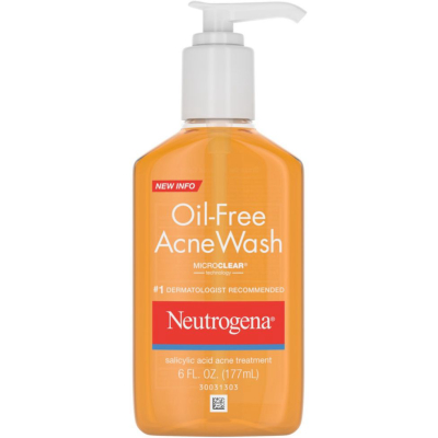 NEUTROGENA | Oil-Free Acne Wash Salicylic Acid BHA