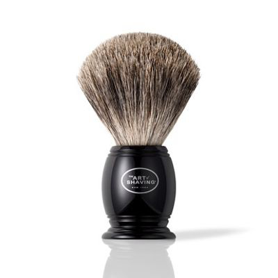 THE ART OF SHAVING | Black Pure Shaving Brush