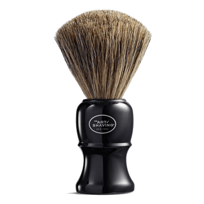 THE ART OF SHAVING | Genuine Black Shaving Brush