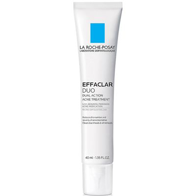 LA ROCHE-POSAY | Effaclar Duo Acne Treatment with Benzoyl Peroxide and Lipohydroxy Acid | 25% off with code MAMINA
