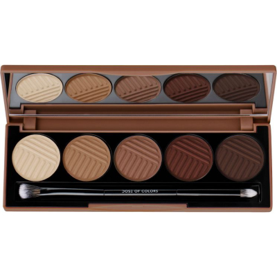 DOSE OF COLORS | Baked Browns Eyeshadow Palette