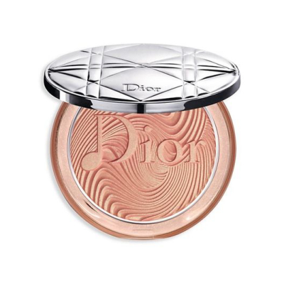 DIOR  | The Diorskin Nude Luminizer Glow Vibes Highlighter - Coral Vibes