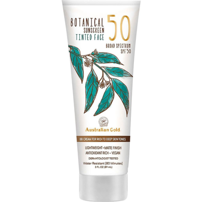 AUSTRALIAN GOLD | Botanical Tinted Face Sunscreen SPF 50