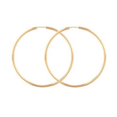 MEJURI | Oversized Thin Hoops