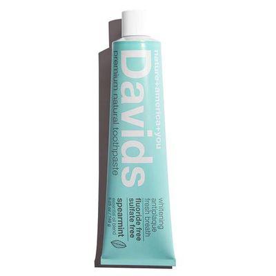 DAVIDS NATURAL TOOTHPASTE | Flouride-free Whitening Toothpaste