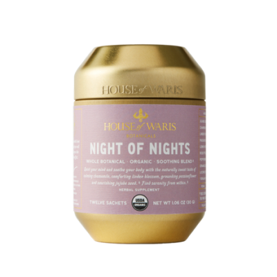 HOUSE OF WARIS | Night Of Nights Functional Tea Blend