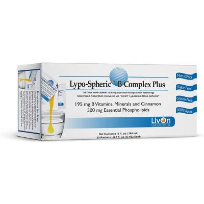 LIVON LABORATORIES | Lypo-Spheric B Complex Plus