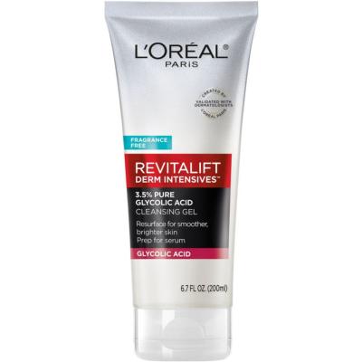 L'OREAL   Revitalift Derm Intensives 3.5% Glycolic Acid Cleansing Gel