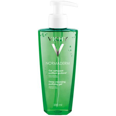 VICHY | Normaderm Daily Deep Cleansing Gel Acne Face Wash With Salicylic Acid