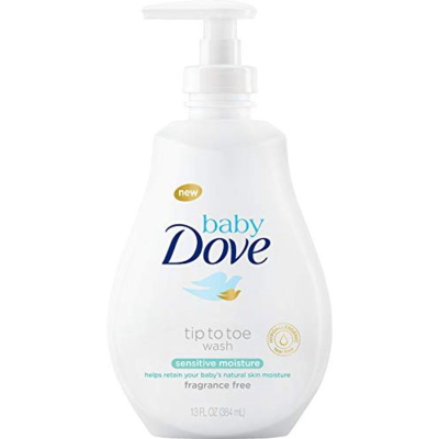 DOVE   Baby Dove Sensitive Moisture Wash