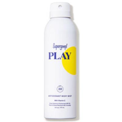 SUPERGOOP   Play Antioxidant Body Mist SPF 30