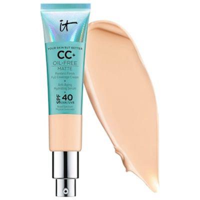 IT COSMETICS | CC+ Cream Oil-Free Matte With SPF 40 - Light Medium