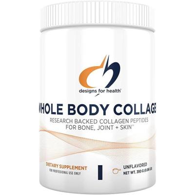 Designs For Health Whole Body Collagen Powder - Pure Collagen Peptides Supplement For Bone