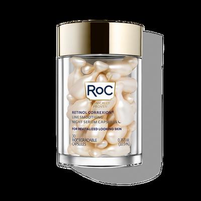 ROC | Retinol Correxion Line Smoothing Night Serum Capsules