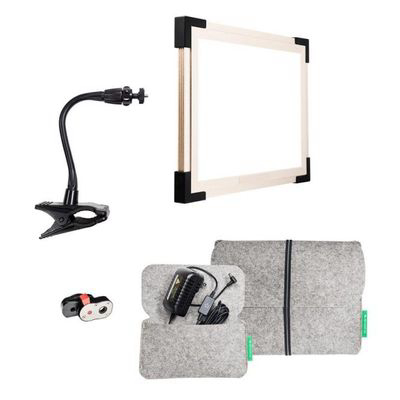 THE MAKEUP LIGHT  |   Key Light 2.0 Starter Kit - With E-Z Clamp