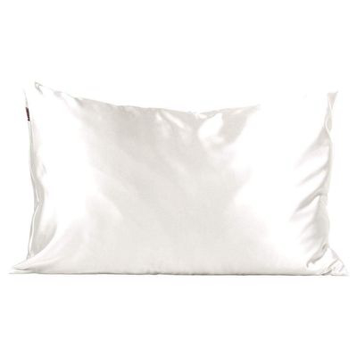 KITSCH | Satin Pillowcase - Ivory (Vegan)
