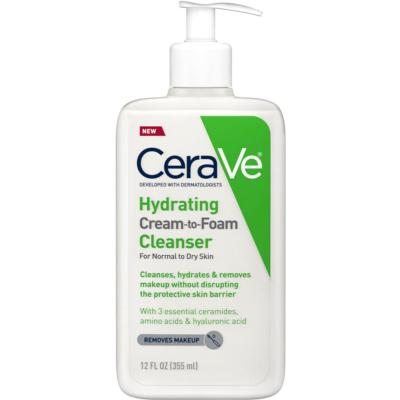 CERAVE | Hydrating Cream-to-Foam Cleanser - 12.0 Oz